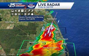 Severe Thunderstorm Warning until 7:00 p.m.