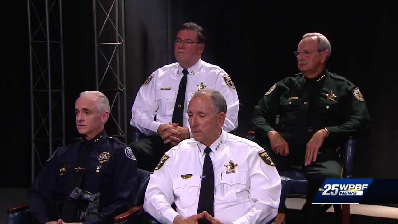 A candid conversation on gun violence with local law enforcement