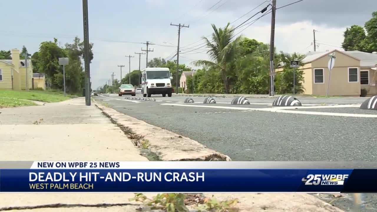 Family and West Palm Beach police search for deadly hit-and-run driver