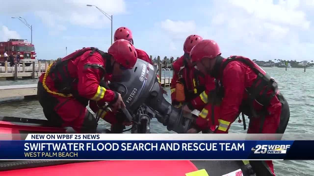 Swiftwater rescue team introduced in West Palm Beach