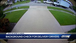 Legislators asked to support background checks for delivery workers