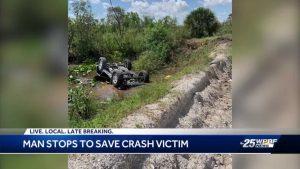 Good Samaritan recalls trying to save victim in fatal Wellington crash
