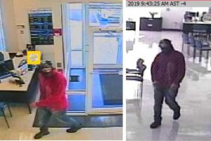 Police search for man accused of two robberies
