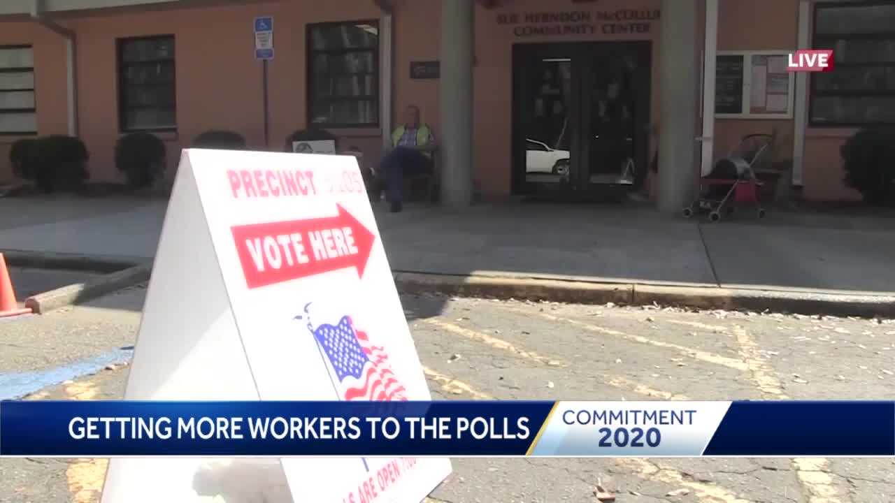 Getting more workers to polls