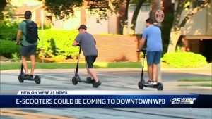 Electric scooters could be coming to downtown West Palm Beach