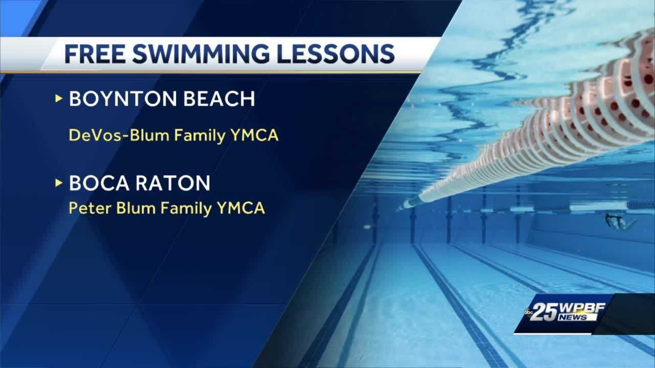 Organizations provide free swim lessons for adults