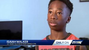Kids jump into action to save stepdad