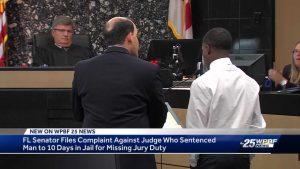 State senator files complaint against white Palm Beach County judge who sent black man to jail