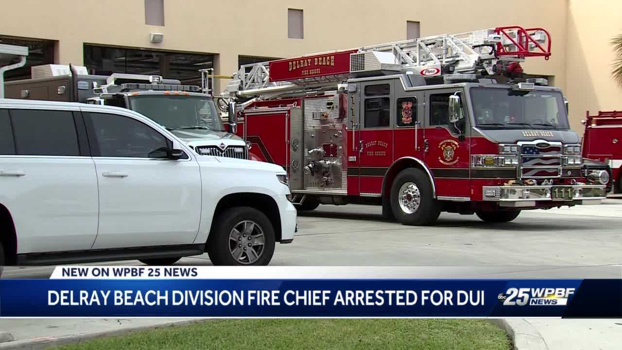 Delray Beach Fire Department division chief arrested