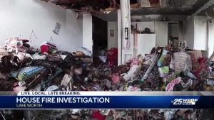 House fire investigation in Lake Worth