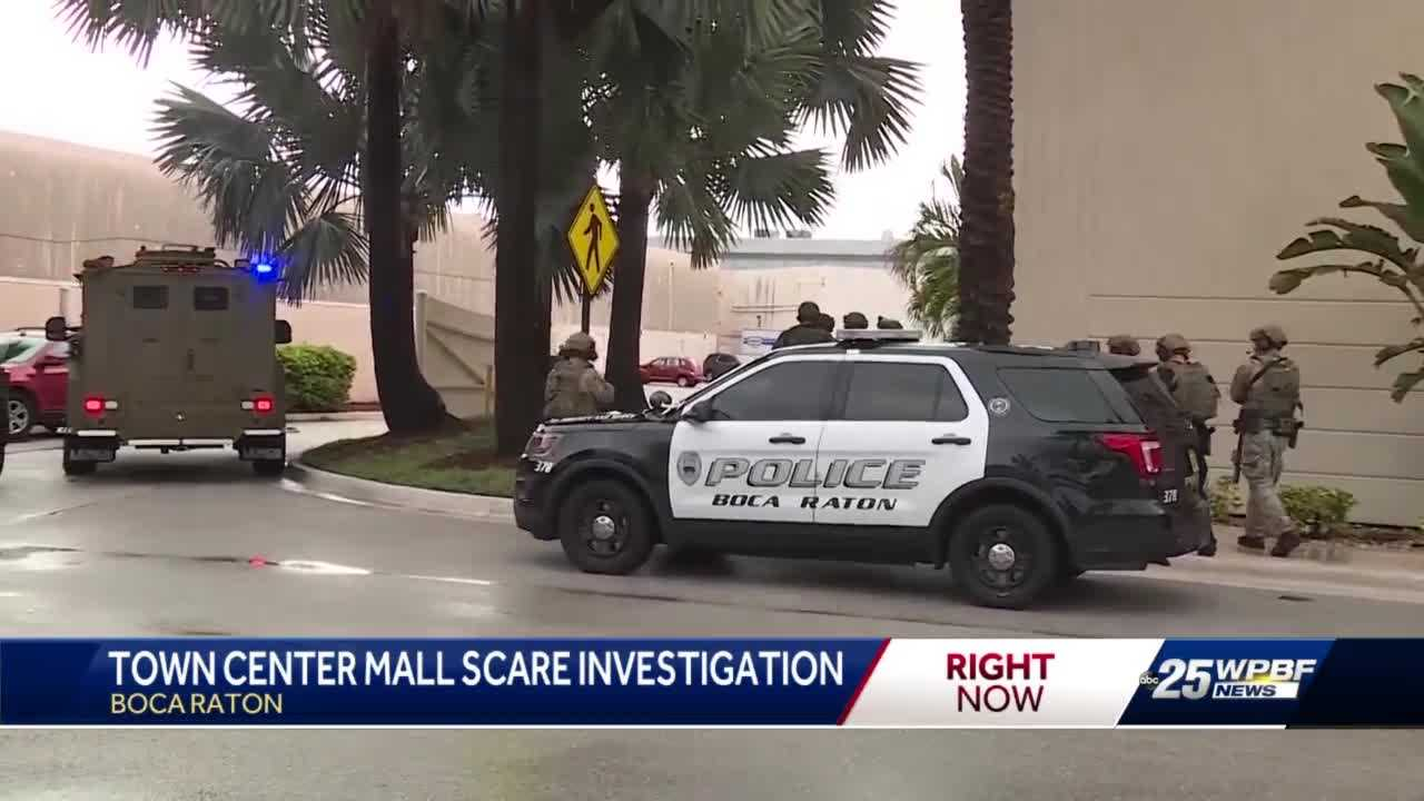 Town Center mall scare under investigation