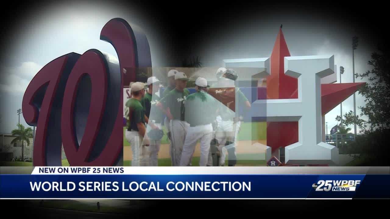 Palm Beach County's ties to the World Series runs deep