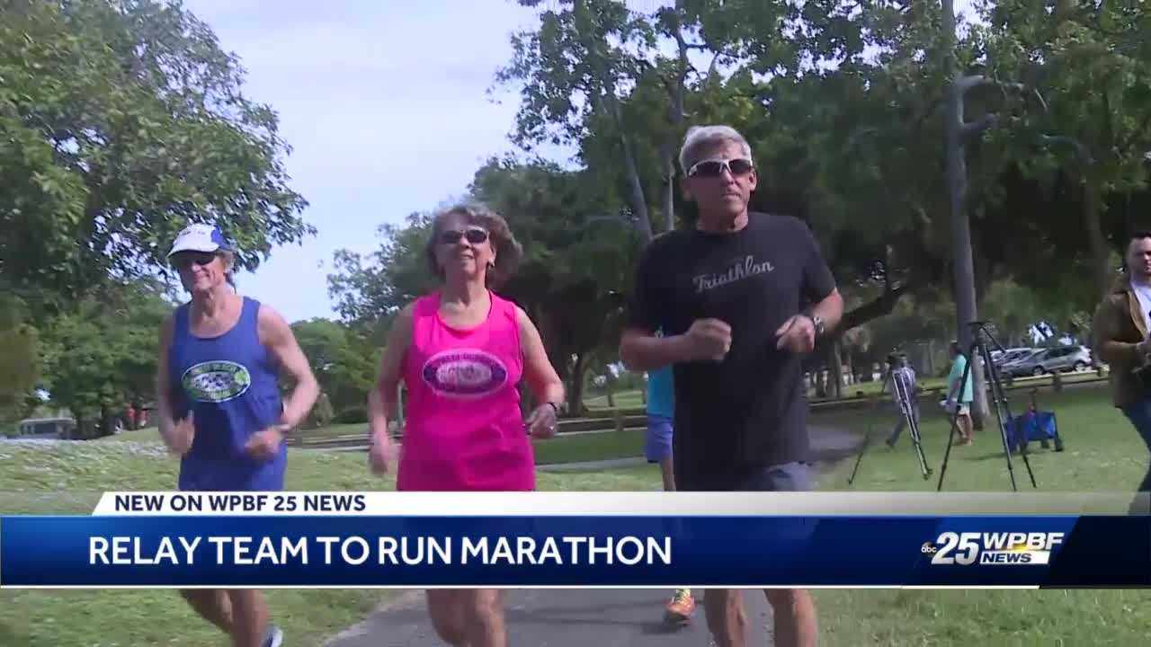 The Rolling Stones Seniors running team is training for big West Palm Beach marathon