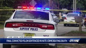 Last suspect sentenced in 2015 Jupiter beating death