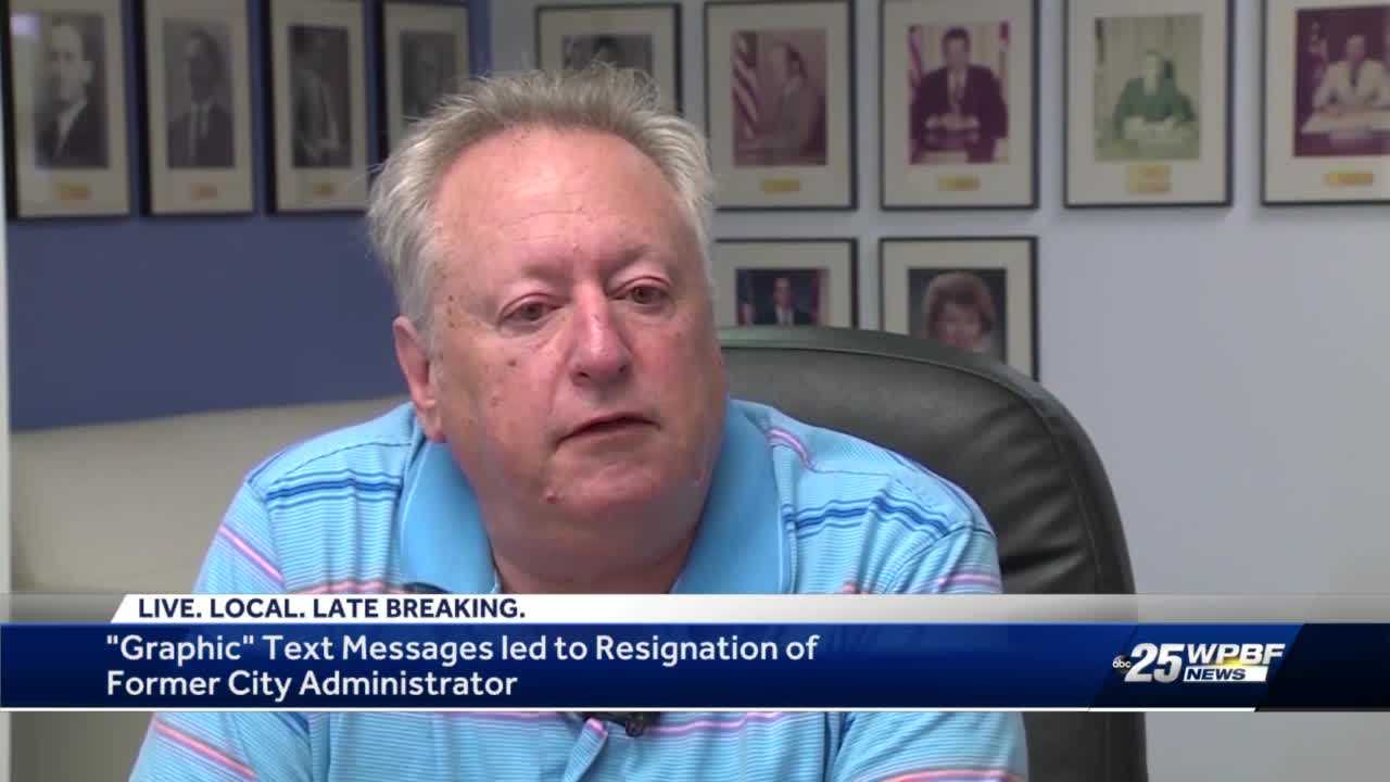 """Graphic"" text messages led to resignation of city administrator Jeff Green"