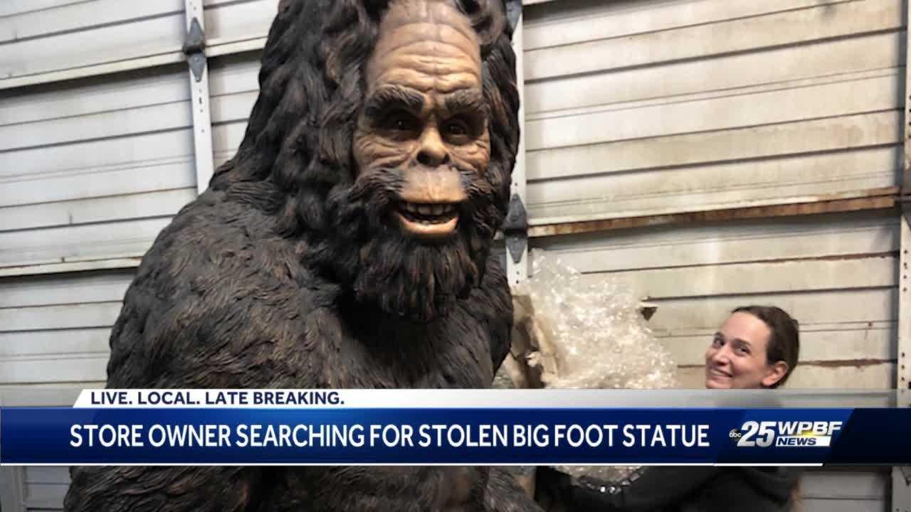 Owner of stolen  Bigfoot talks about strange theft in Boynton Beach