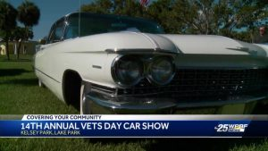 Annual Vets' Day car show