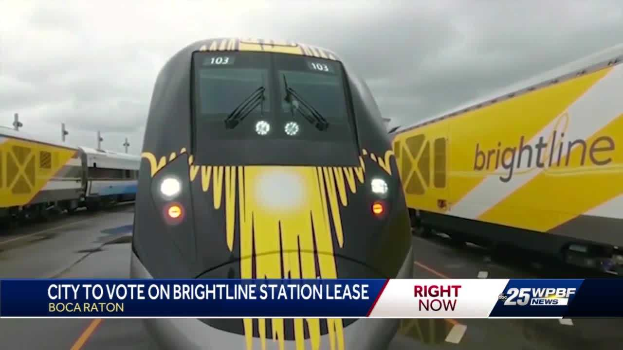 Boca Raton approves Brightline station lease