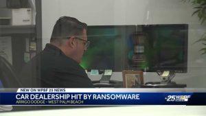 Hackers paralyze computer system of Arrigo Dodge Chrysler Jeep