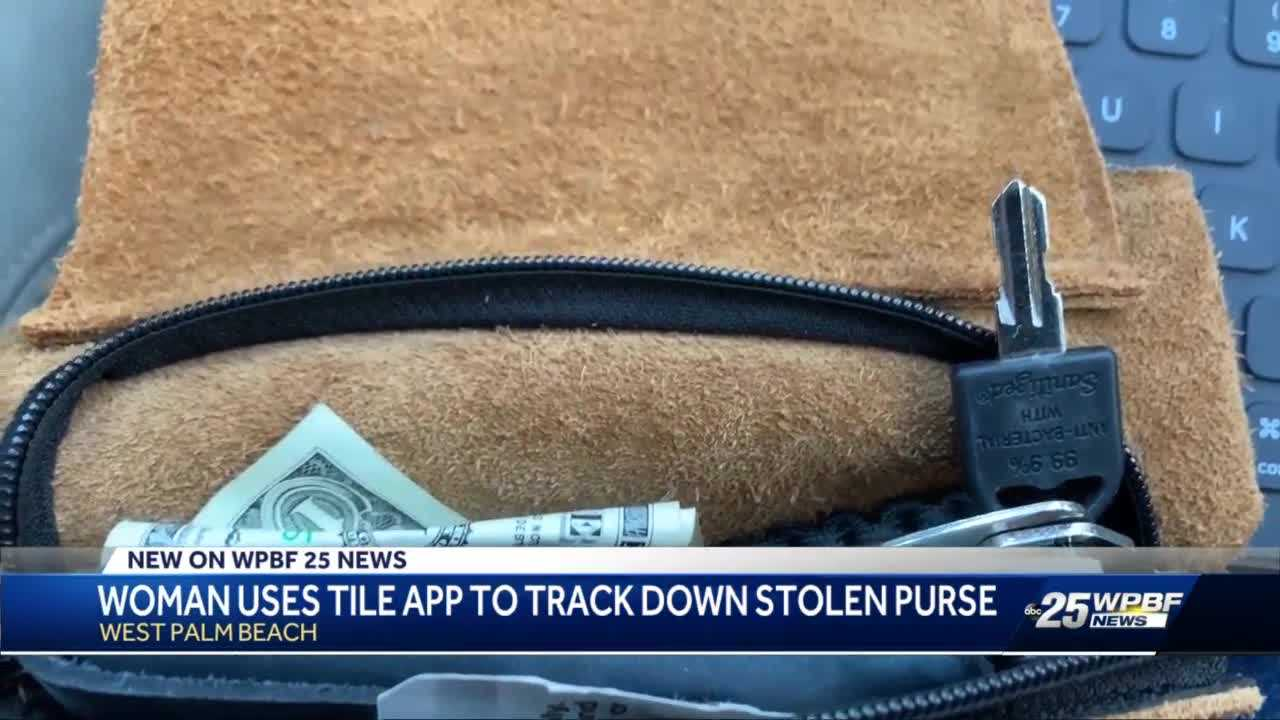 Tile Wallet Tracker helps West Palm Beach woman track down suspected credit card thieves