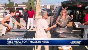 Local family gives out 150 free Christmas meals