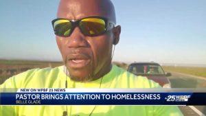 Deadline near for pastor raising money for homeless
