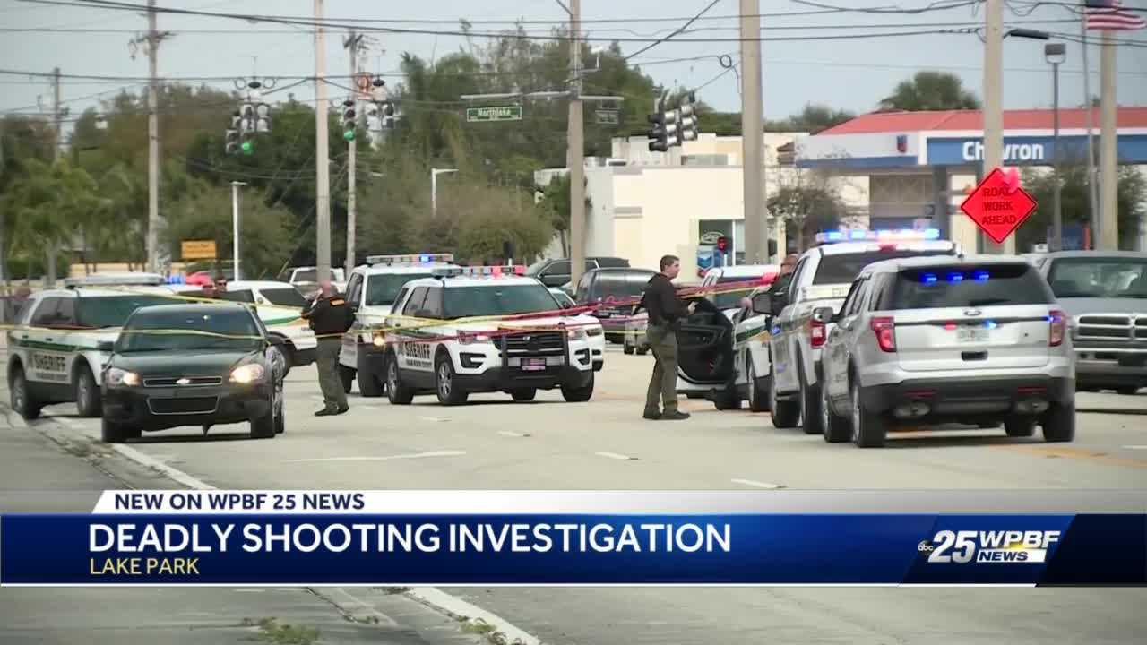 Man shot and killed in shopping center parking lot