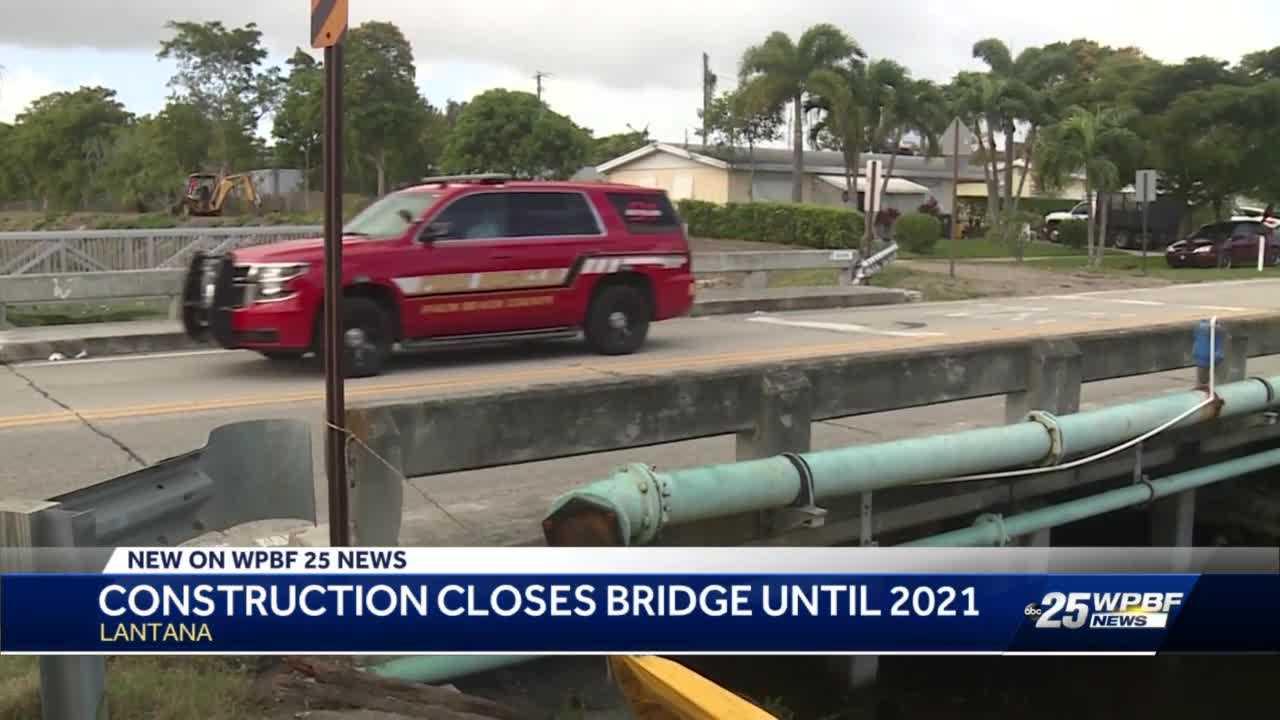 Yearlong road closure set for Lantana