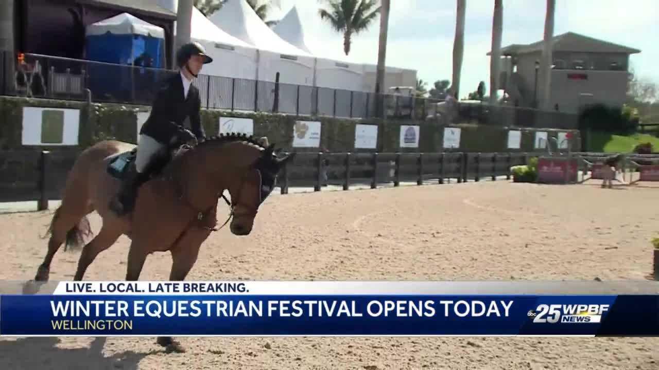 Winter equestrian festival opens