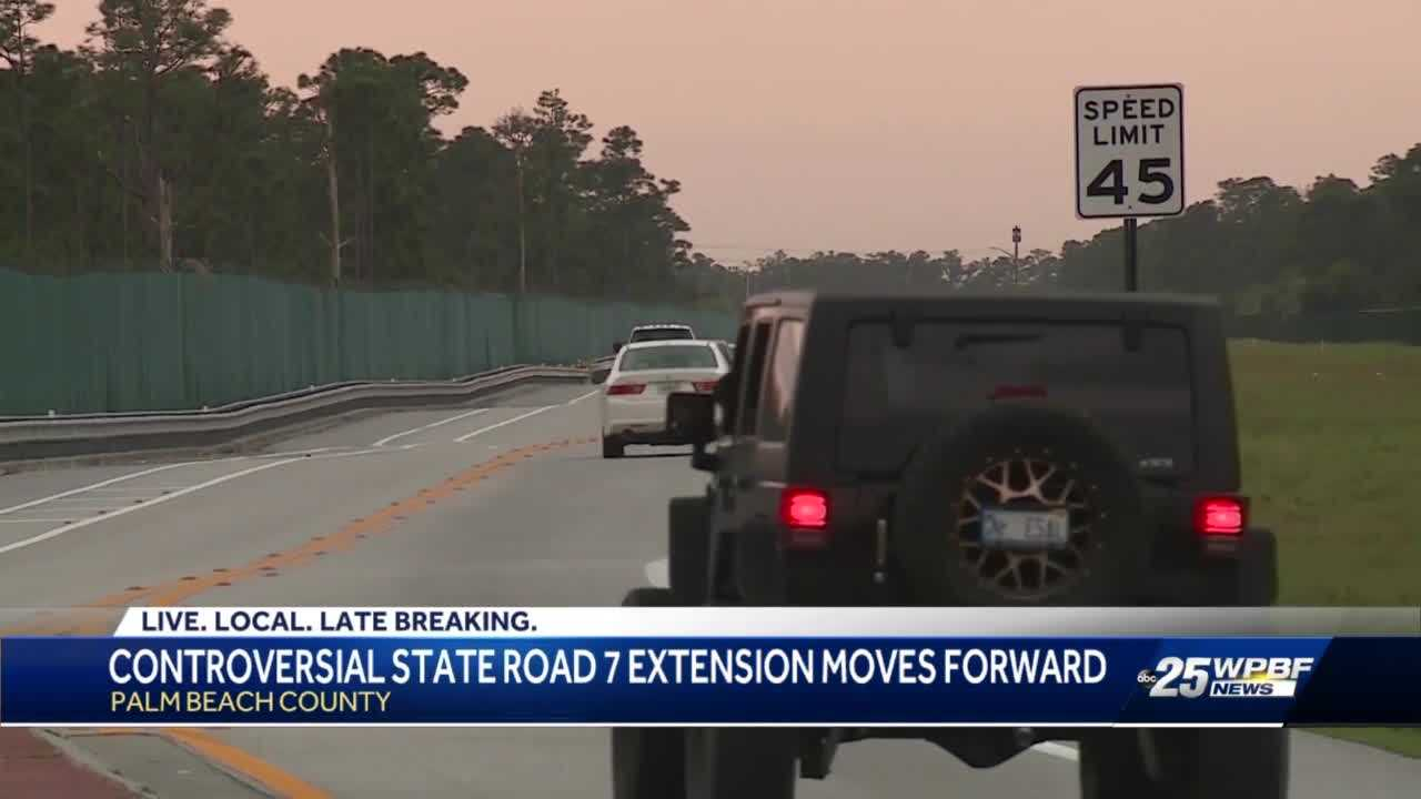 State Road 7 extension project back on track