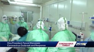 Vice President Pence and Gov. DeSantis meet in West Palm Beach to discuss coronavirus
