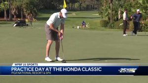 Practice day at the Honda Classic