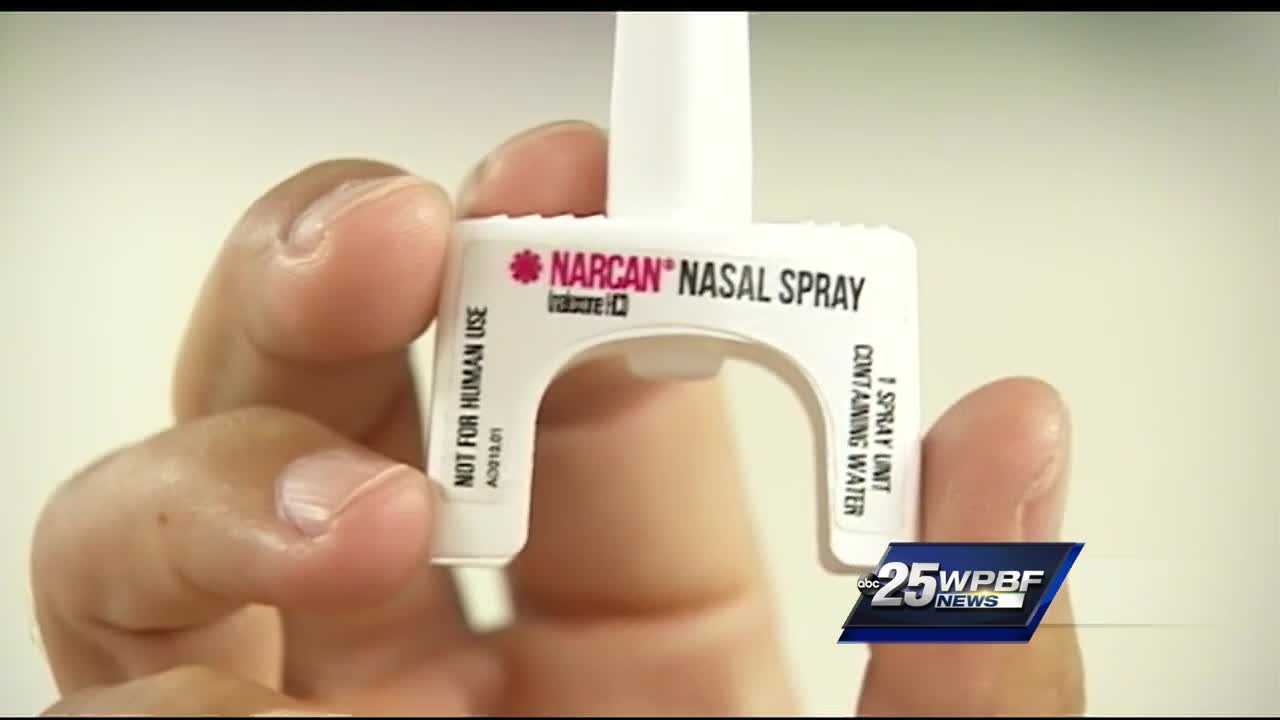 Retired Boynton Beach firefighter saving lives with NARCAN