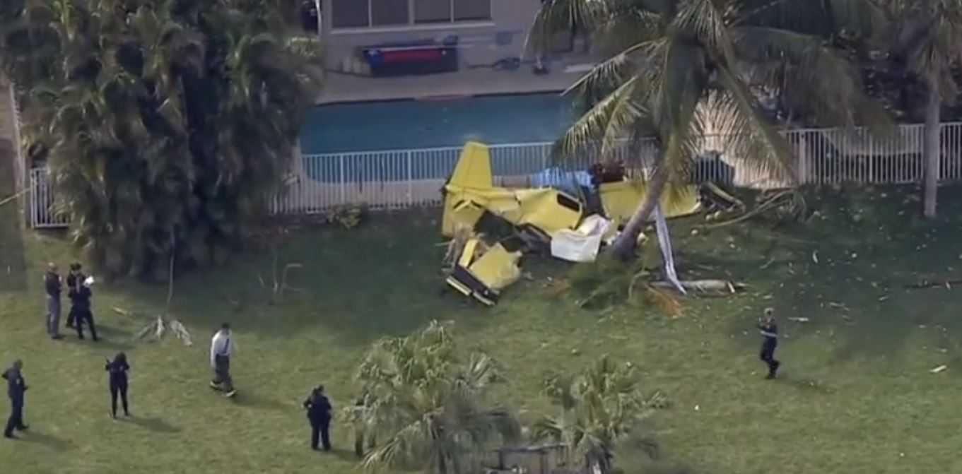 One person dead after plane crash in Boynton Beach
