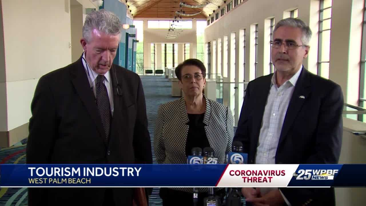 Tourism industry officials meet to discuss coronavirus concerns