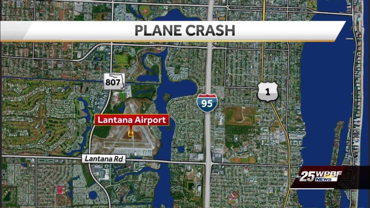 No injuries in plane crash at Lantana Airport
