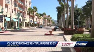 Boca Raton orders all nonessential businesses to close