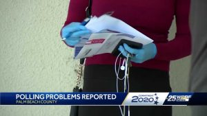 Lack of poll workers an issue in Palm Beach County