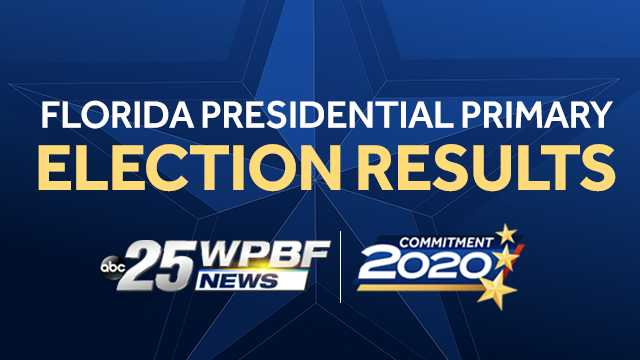 Palm Beaches & Treasure Coast 2020 Florida Presidential Primary Election Results