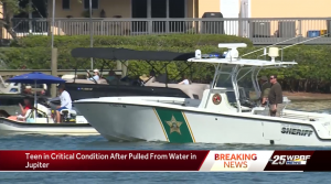 Teenage boy in critical condition after near-drowning by Sawfish Bay Park