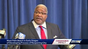 West Palm Beach mayor delivers COVID-19 State of the City update