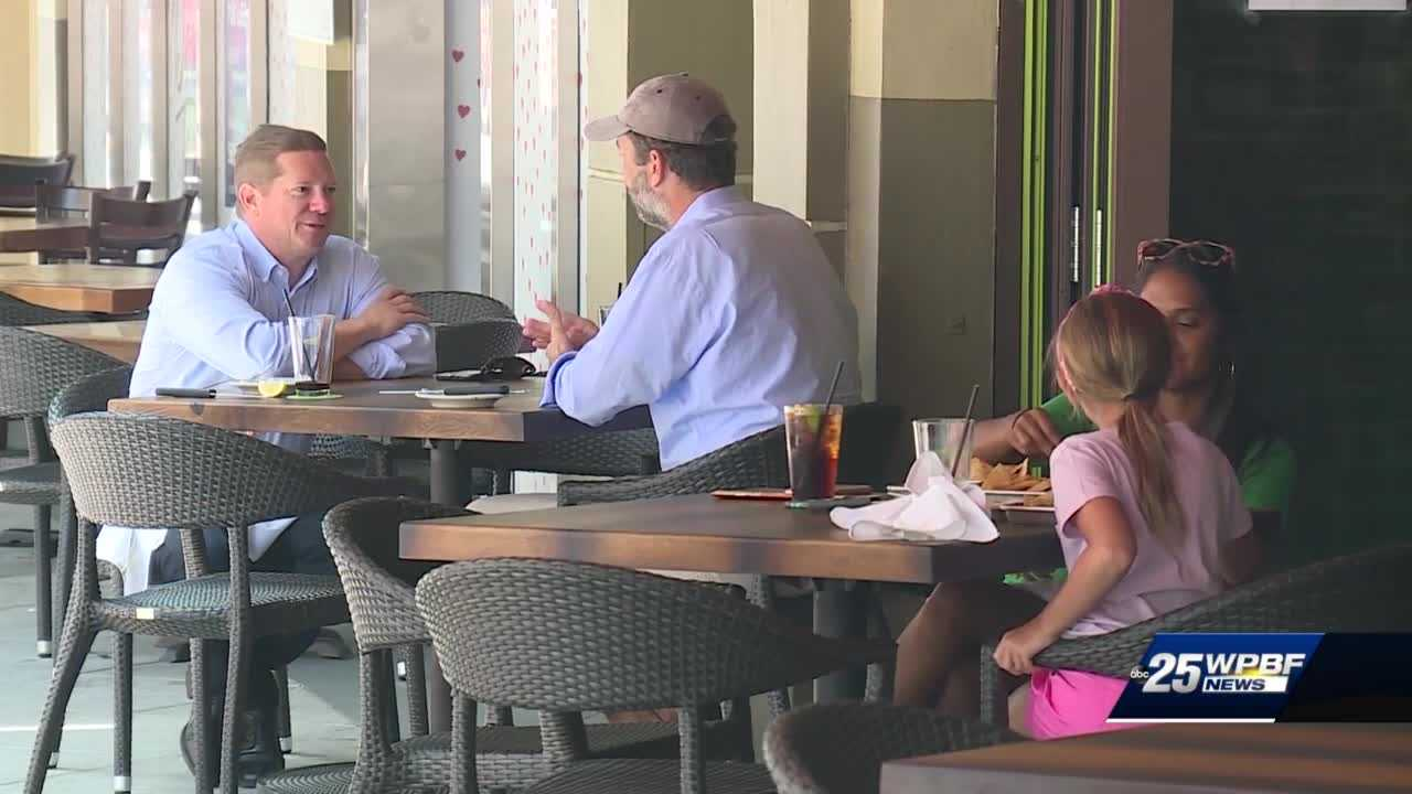 Restaurants restart outdoor seating in Palm Beach County
