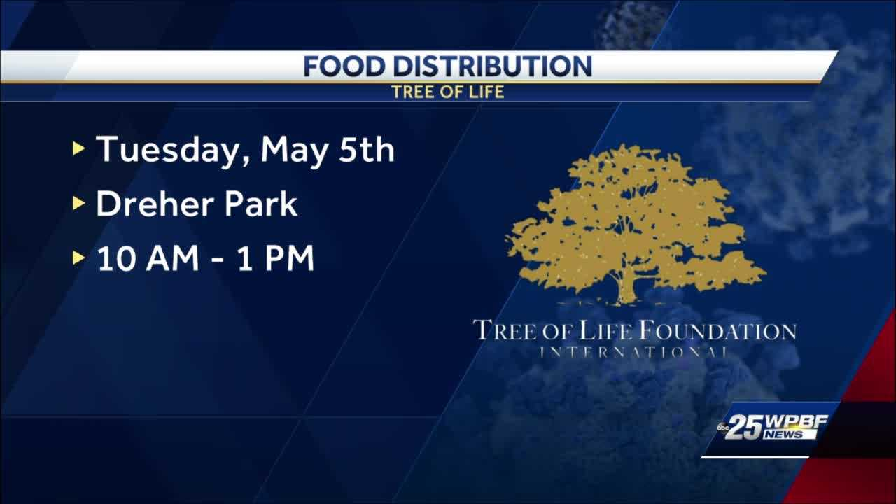 Tree of Life Resource Center hosting major drive-thru food distribution event at Dreher Park