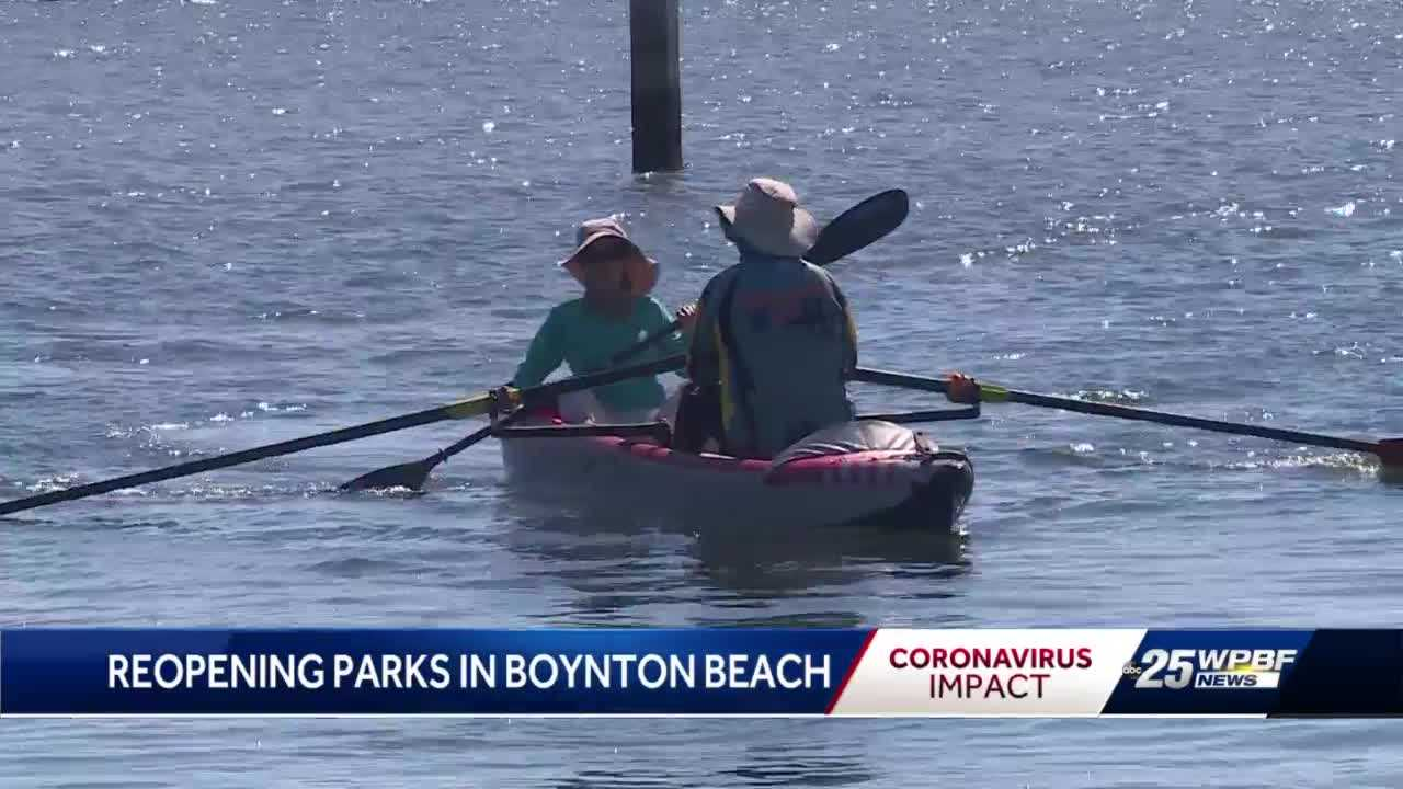 Parks reopen in the City of Boynton Beach