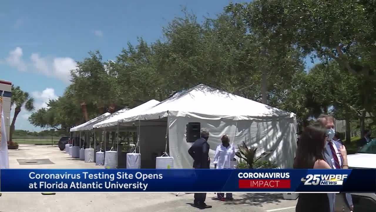 New COVID-19 testing site opens in Boca Raton