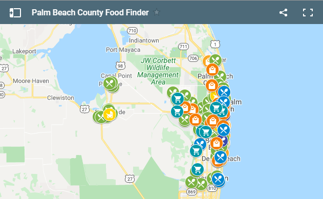 United Way Launches Palm Beach County Food Finder Map