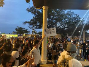 Protesters demand racial equality during demonstrations in Palm Beach County
