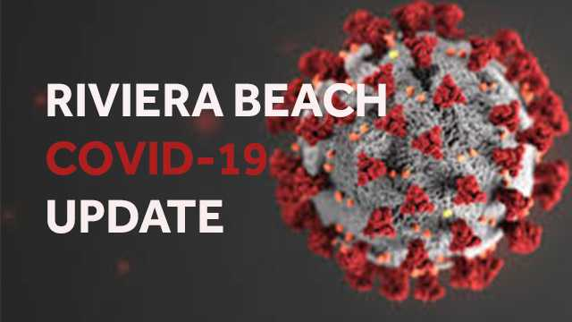 Riviera Beach officials hold press conference on new COVID-19 testing site