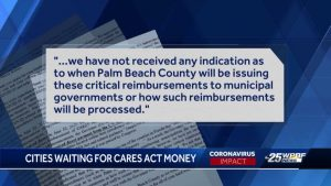 Boca Raton and other local cities want Palm Beach County to share CARES Act funds