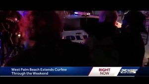 West Palm Beach officials address weekend curfew and protests